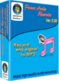 audio recordings software - recording any audio,voice from any internal or external source