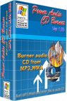 Burnning your own MP3,WMA,OGG and WAV music to CD.